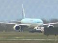 News video: Raw Video: Plane Lands in Canada After Threat